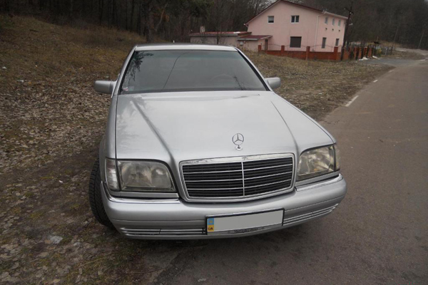 Аренда авто Мерседес W140 в Черкассах