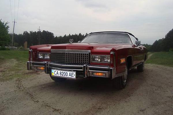 Аренда авто Кадиллак Эльдорадо в Черкассах