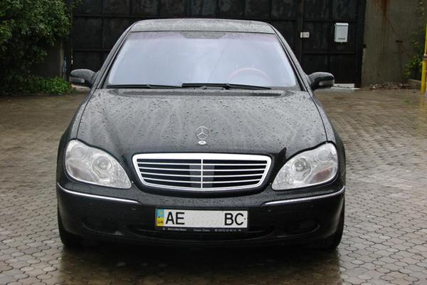 Аренда авто Мерседес S500 в Черкассах