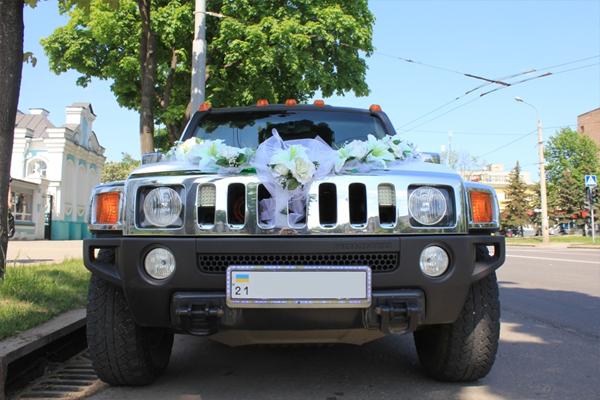 Аренда свадебного лимузина Хаммер H3 в Черкассах