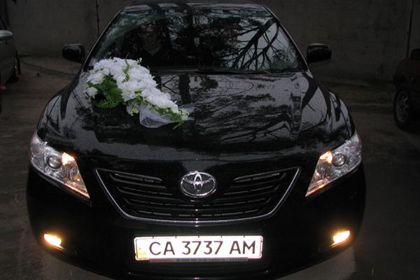 Аренда авто Тойота Камри XV40 в Черкассах